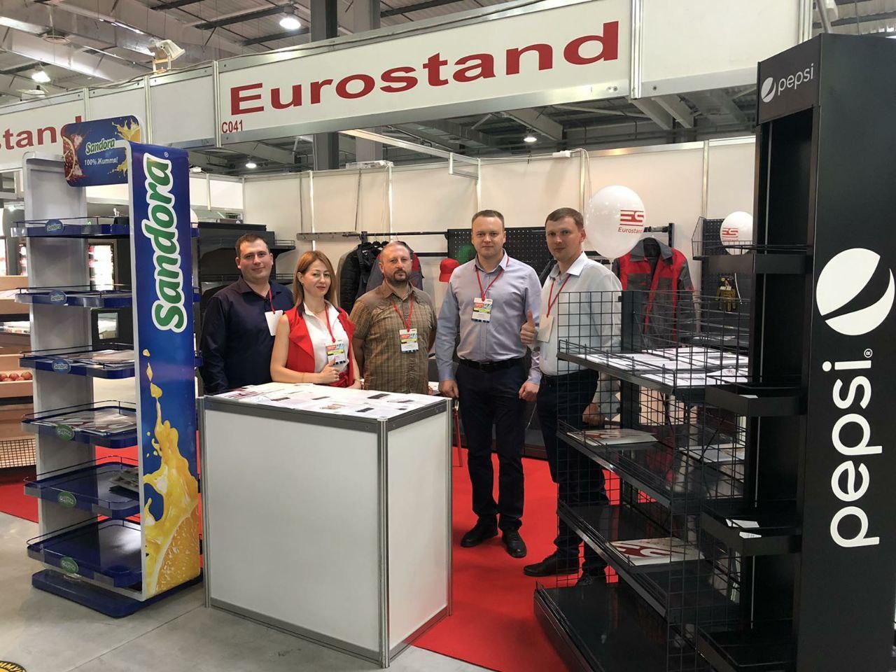 Компания «Eurostand» приняла участие в выставке «Индустрия торговли»