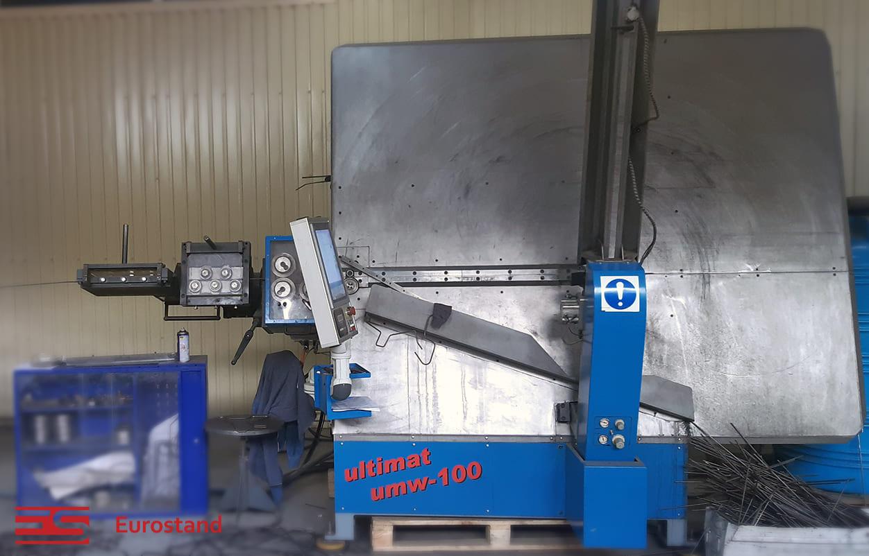 Автоматичний станок для згинання дроту UMW-100