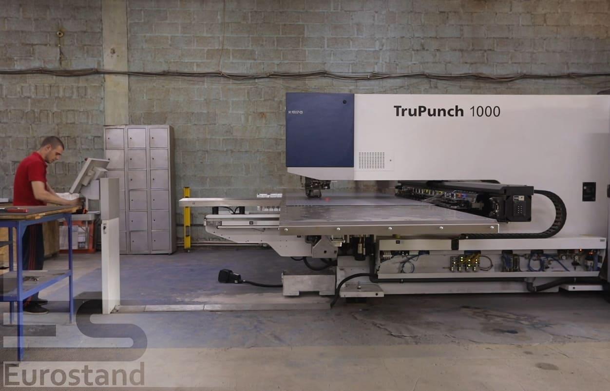 TruPunch 1000 ⎼⎼ станок для профессиональной обработки металла вырубкой.